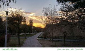 غروب طلایی - یک عکس زیبا از منطقه 22 تهران - عکس بوستان در یاس نهم - میدان اتریش غروب طلایی غروب طلایی – یک عکس زیبا از منطقه 22 تهران                            22 300x181